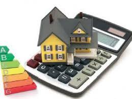 maison avec calculatrice